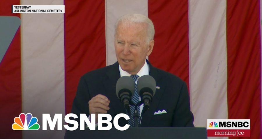 Biden Delivers Impassioned Defense Of Democracy | MSNBC 1