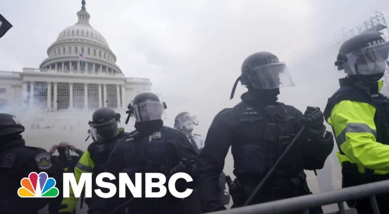 Capitol Police Officer Recounts 'Unbelievable' Jan. 6 Attack | MSNBC 7