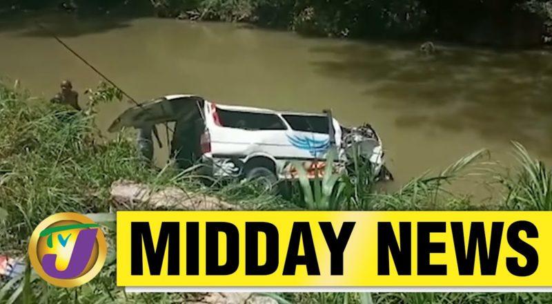 13 Injured in Bog Walk Gorge Accident in Jamaica   TVJ Midday News - June 8 2021 1
