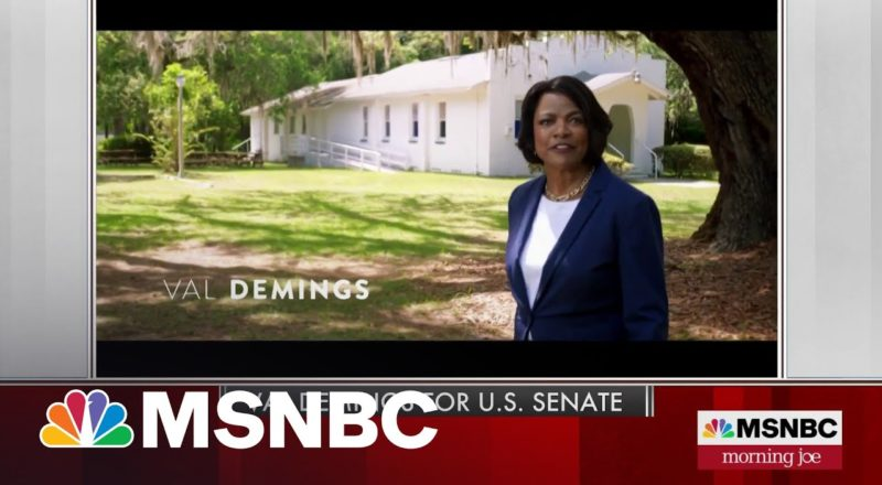 Rep. Val Demings announces challenge to Marco Rubio   MSNBC 1