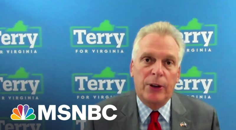 McAuliffe: I Don't Think Trump Has Courage To Come Back To Virginia 1