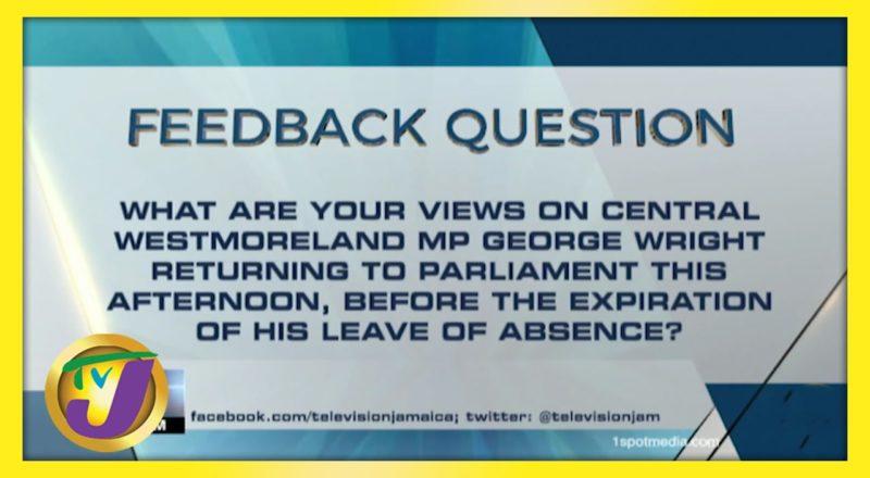 Feedback Question   TVJ News - June 8 2021 1