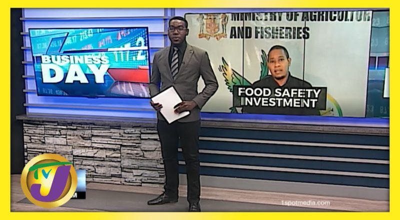 Jamaican Gov't to Invest in Food Safety   TVJ Business Day - June 8 2021 1