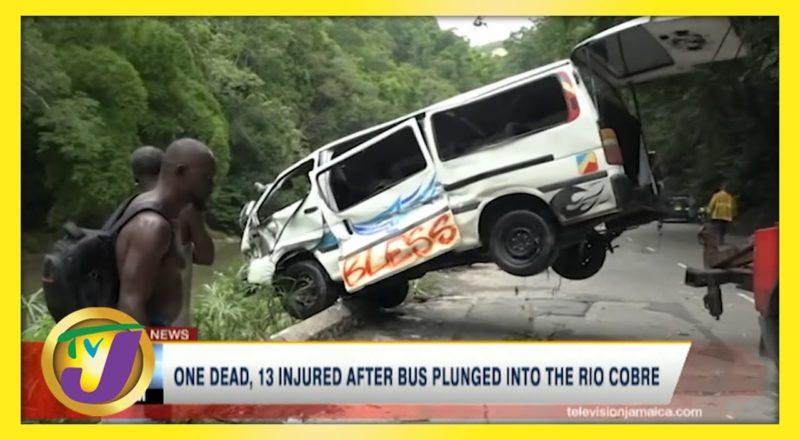 Bog Walk Gorge Jamaica Crash | TVJ News - June 8 2021 1