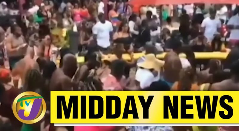 Two Charged for Mocha Fest Party Held in Jamaica   TVJ Midday News - June 9 2021 1