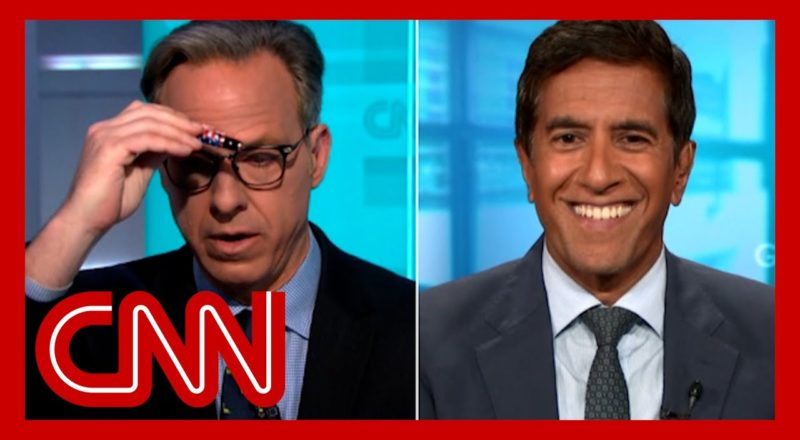 Tapper reacts to doctor's unhinged vaccine claim about magnets 1