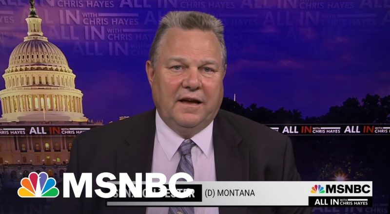 Undo Filibuster If GOP Continues To 'Weaponize' It Says Sen. Tester 1