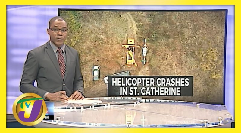 JDF Aircraft Makes Emergency Landing in St. Catherine, Jamaica | TVJ News - June 9 2021 1