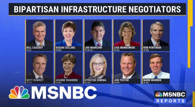 Bipartisan Group Of Senators Reaches Tentative Infrastructure Deal 1