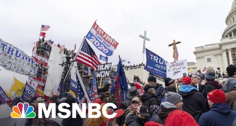 Trump Vet Sparks 'Coup' Backlash As Trump Faces Legal Jeopardy | MSNBC 1