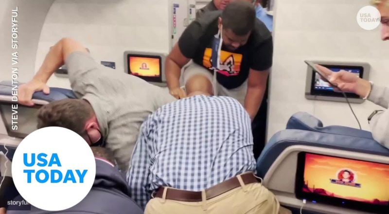 Delta flight forced to divert after 'unruly passenger' was detained | USA TODAY 3