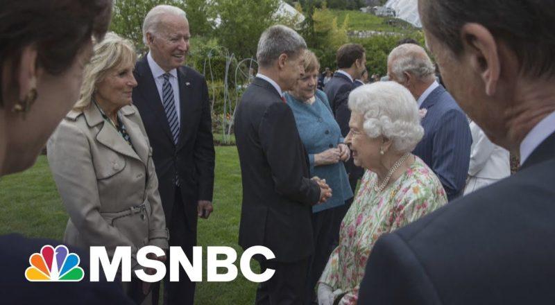 President Biden Became 13th U.S. President To Meet Queen Elizabeth 4