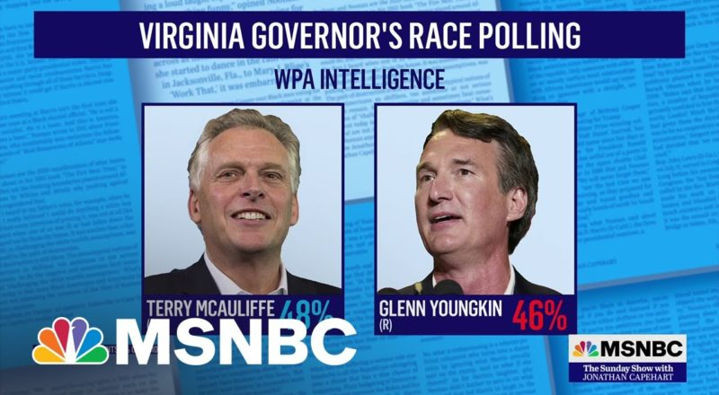 Polls Show Candidates Are Neck-and-Neck for Virginia Gov's Race 1
