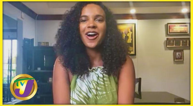 Moving Abroad fro Love - Alyshia Miller-Powell | TVJ Smile Jamaica 1