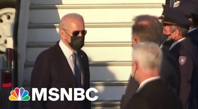 Biden Arrives in Brussels For NATO Meeting 4