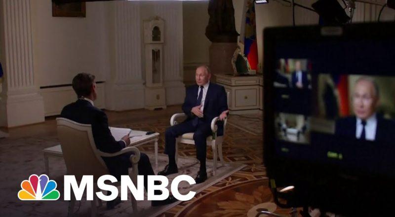 Vladimir Putin On Arms Control Talks With The United States | MSNBC 4