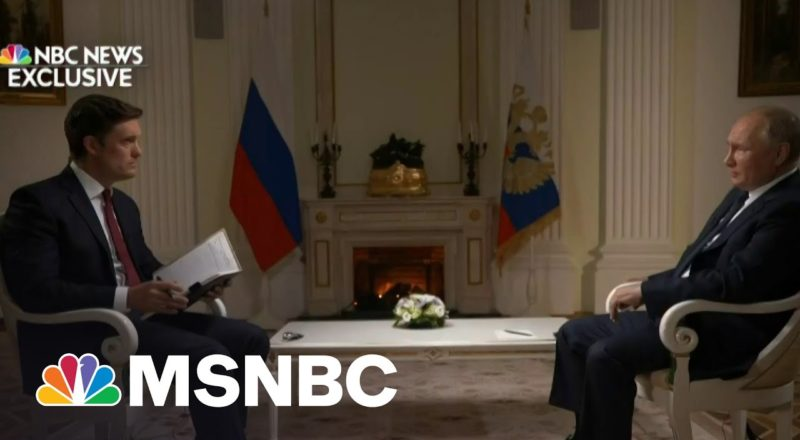 He Was 'Urging Me To Believe Him': Keir Simmons Discusses Putin Interview 3