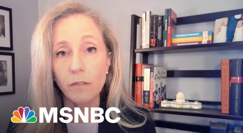Rep. Spanberger: Biden Needs 'To Stand Up For Our Country' | MSNBC 1