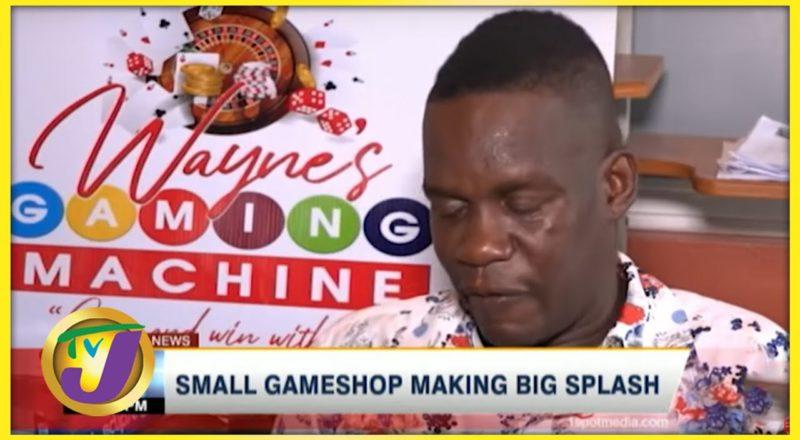 Small Gameshop Making Big Splash | TVJ News - June 13 2021 1