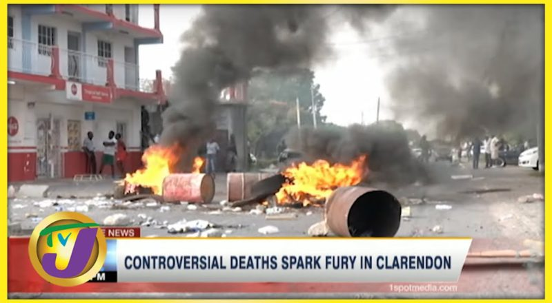 Controversial Deaths Spark Fury in Clarendon Jamaica | TVJ News 1