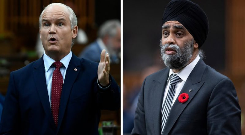 O'Toole wants Sajjan fired for military misconduct scandal 1