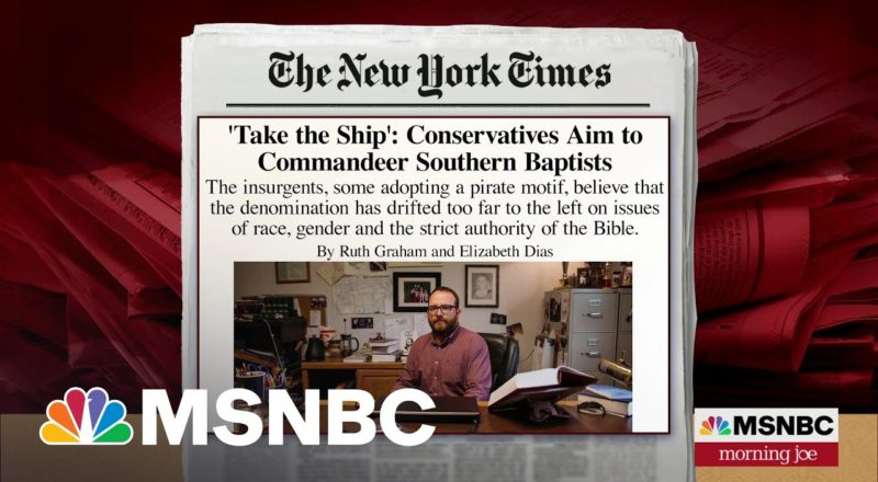 How Southern Baptists Could Name A New Anti-Establishment Leader 1