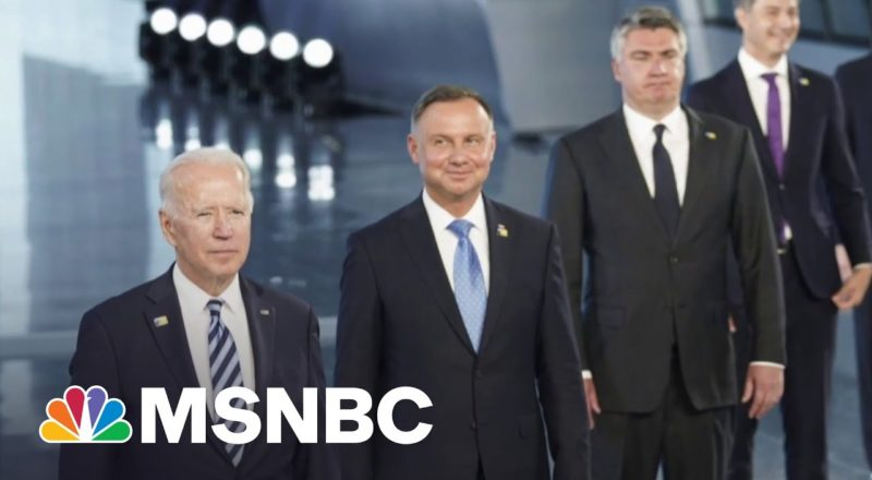 NATO Leaders Warn That China Is Poising A Military Threat | MSNBC 3