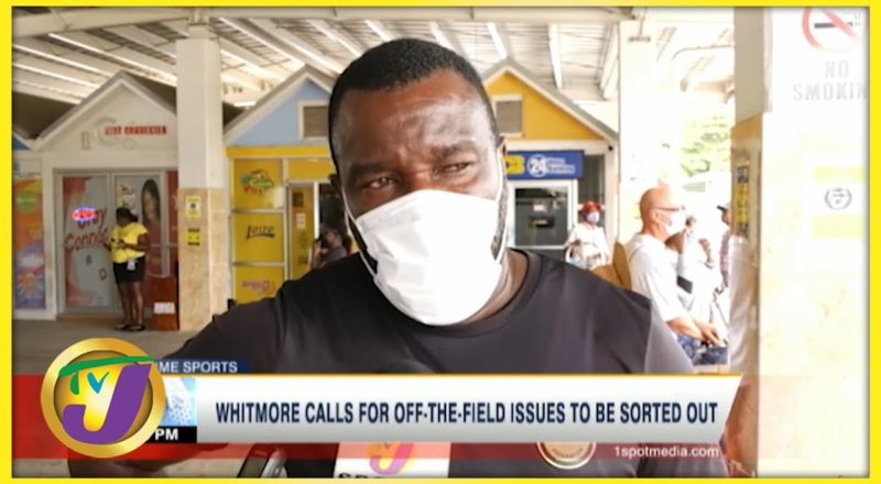 Jamaica's Reggae Boyz Coach Whitmore Commenting on Off-field Issues - June 14 2021 1
