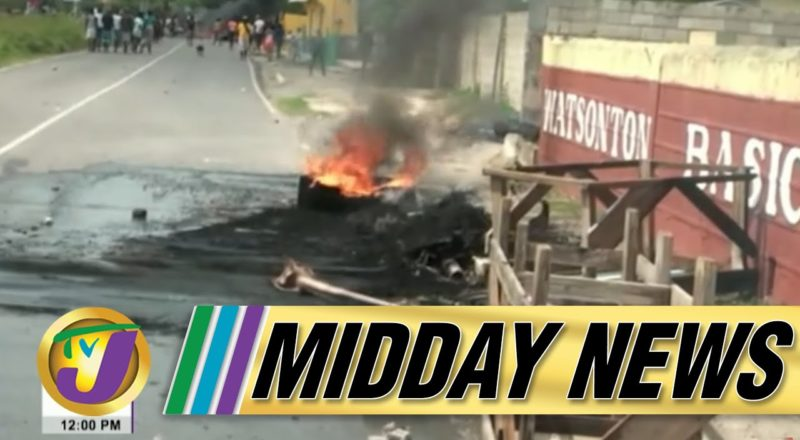 Deadly Covid-19 Delta Strain | Chaos Continues in Clarendon Jamaica | TVJ Midday News - June 15 2021 3