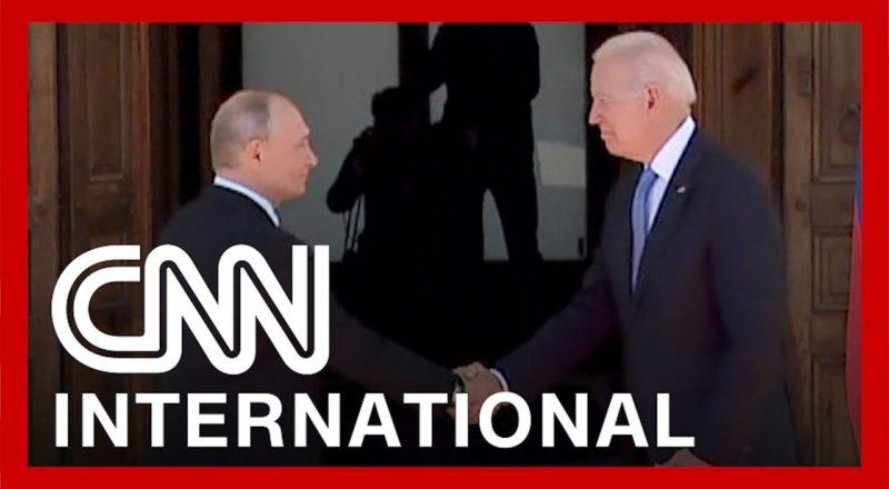 Biden and Putin shake hands as summit begins in Geneva 3