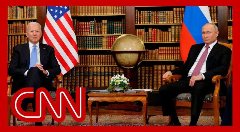 'Very uncomfortable': Biden-Putin photo op gets awkward 9