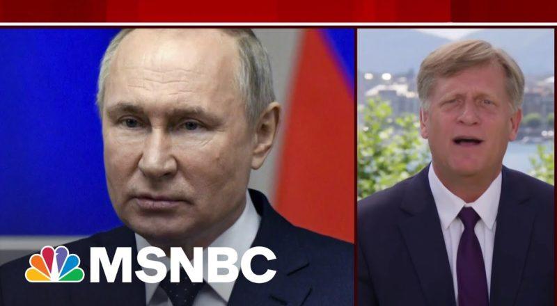 Biden Has To Engage And Contain Putin, Says Former Ambassador   MSNBC 4
