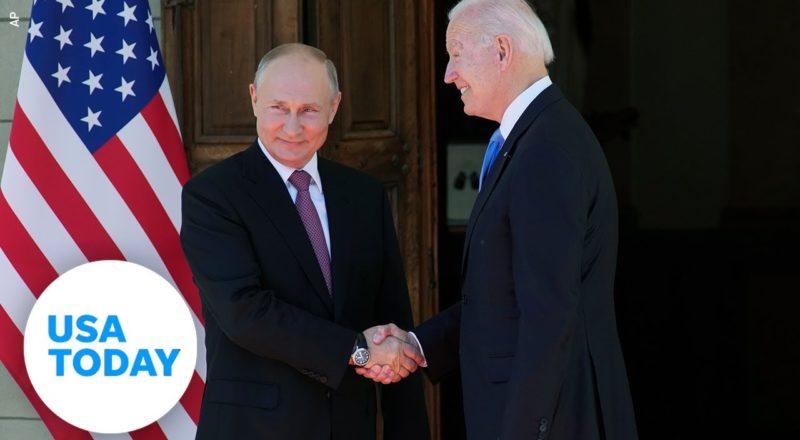 President Biden and Russian President Vladimir Putin meet in Geneva | USA TODAY 5