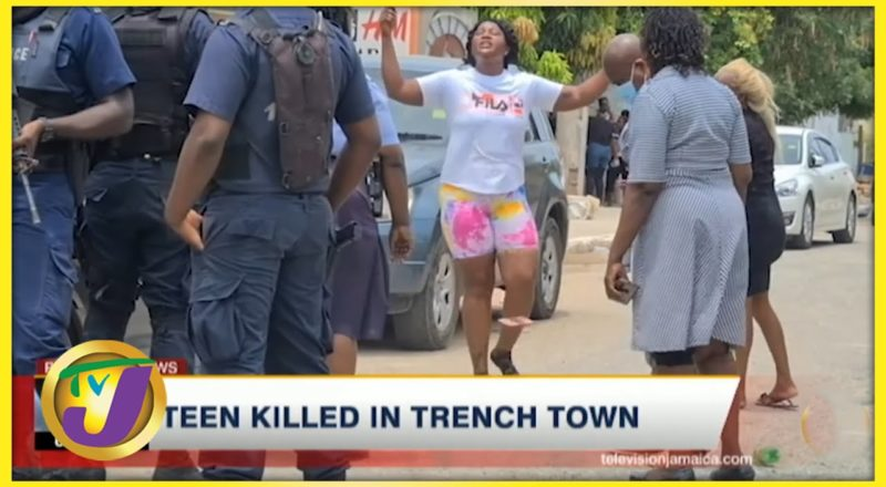 Tension High in Trench Town, Jamaica Following Shooting | TVJ News 1