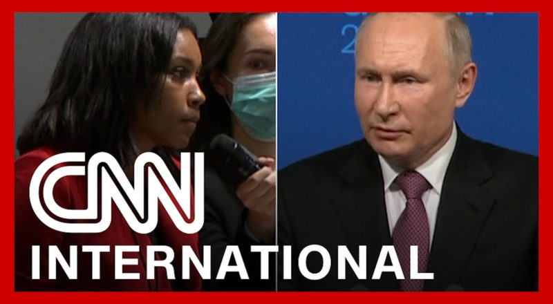 Reporter confronts Putin: 'What are you so afraid of?' 1