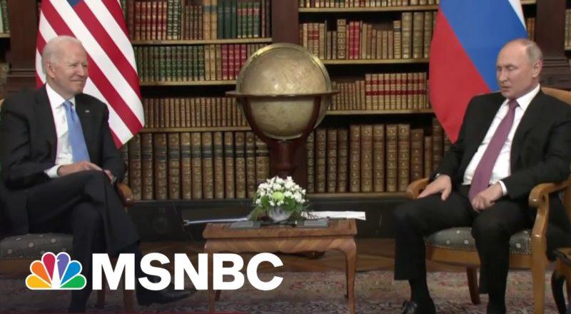 Russia Reacts To Biden-Putin Summit And Alexei Navalny Imprisonment 1