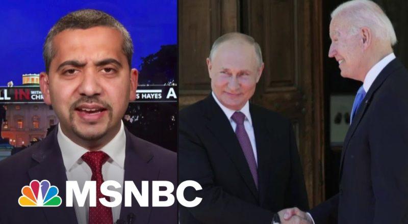 Mehdi: Putin Did His 'Best Impression Of Sen. Ron Johnson' Discussing Jan. 6 2
