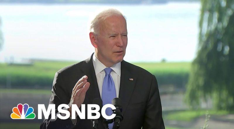 Biden Shares Not-Very-Subtle Threat That He Left On Putin's Lap 7