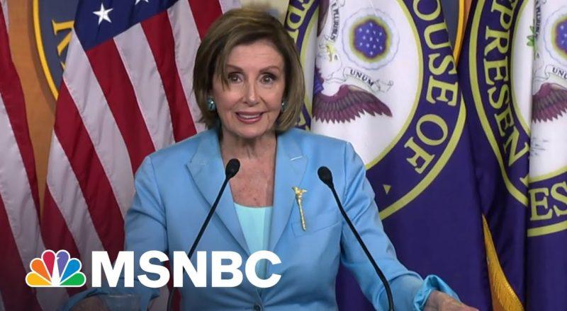 Pelosi Praises SCOTUS Upholding Obamacare As 'A Landmark Victory' 9