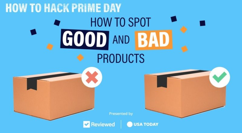 Amazon Prime Day 2021: How to avoid getting scammed| Reviewed and USA TODAY 1