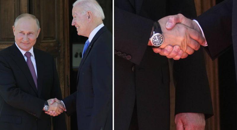 Body language expert breaks down the Putin-Biden handshake 2