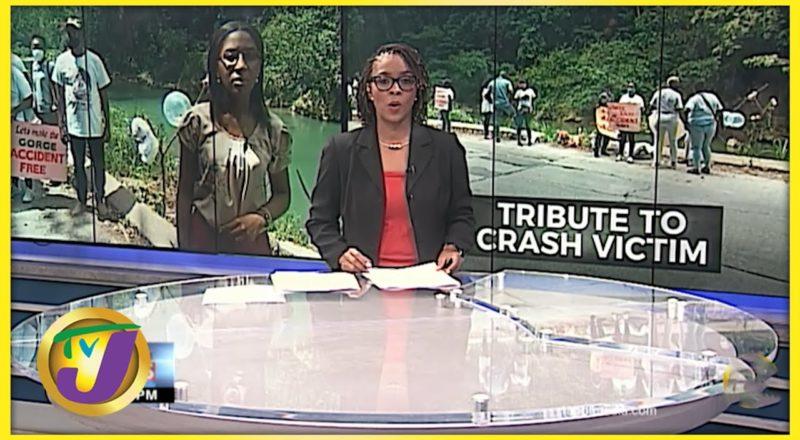 Tribute for Victims of Bog Walk Fatal Crash | TVJ News - June 17 2021 1