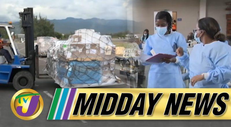 Covid Vaccine Shortage in Jamaica | TVJ Midday News - June 18 2021 1
