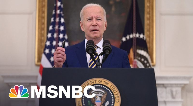 Biden Announces 300 Million Covid Vaccine Doses Have Been Administered 1