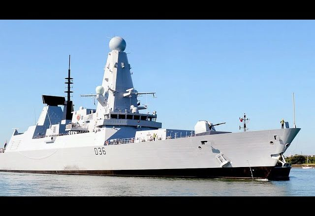 Russia says it fired warning shots at U.K. destroyer, British deny the incident happened at all 9