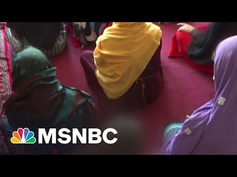 Afghan Women Face Increasing Fears Of A Taliban Return | MSNBC 2
