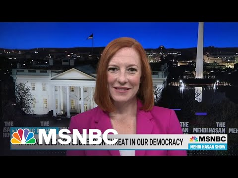 WH Press Secy. On Biden's Voting Rights Agenda | MSNBC 7
