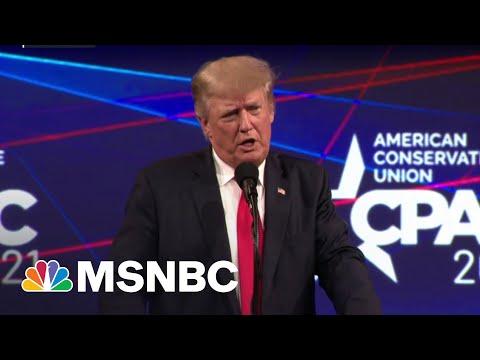 Trump Blows Out DeSantis In CPAC Straw Poll | MSNBC 1