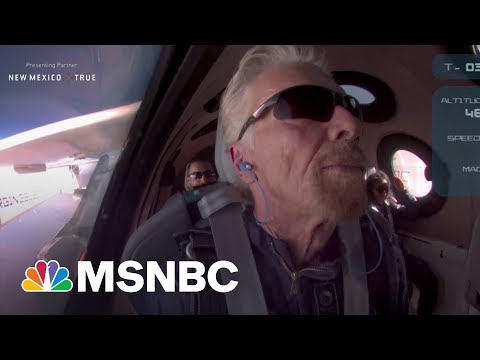 Fmr. Astronaut On Branson's Historic Flight: 'It's A Really Big Deal' 5