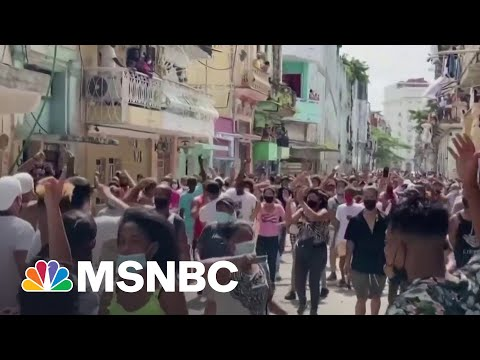 Cuba Cracks Down On Protests Amid Worst Economic Crisis In Decades 1